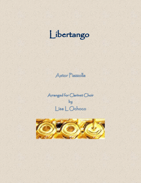 Libertango for Clarinet Choir