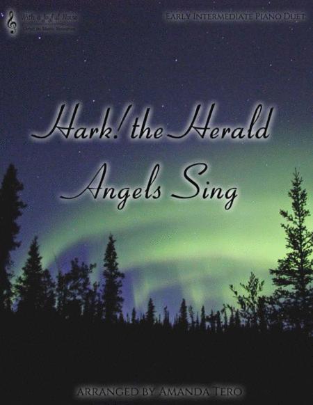 Hark! the Herald Angels Sing (piano duet)