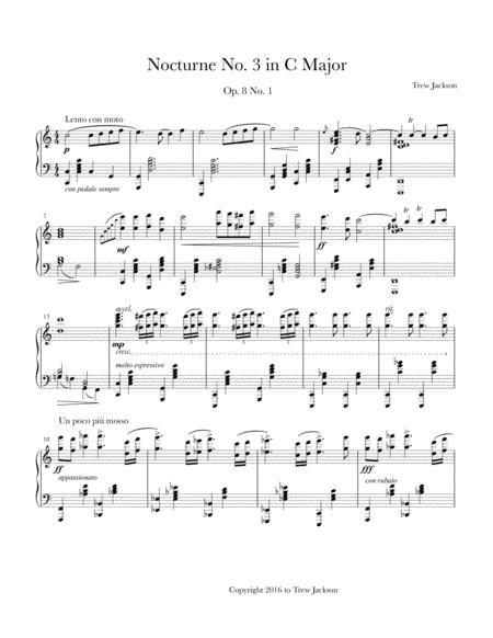 Nocturne No. 3 in C Major