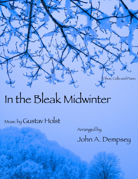 In the Bleak Midwinter (Trio for Oboe, Cello and Piano)