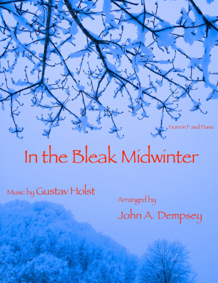 In the Bleak Midwinter (Horn in F and Piano Duet)