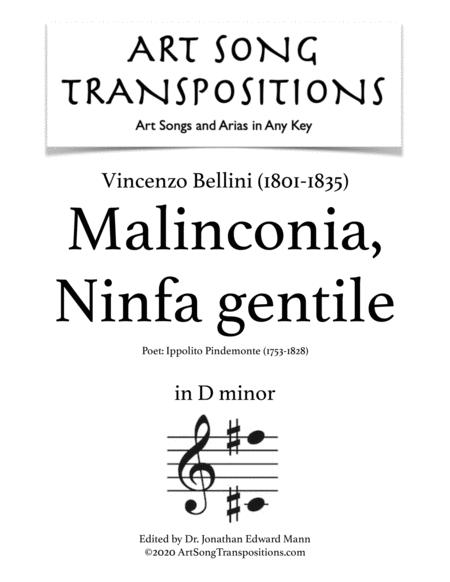 Malinconia, Ninfa gentile (D minor)