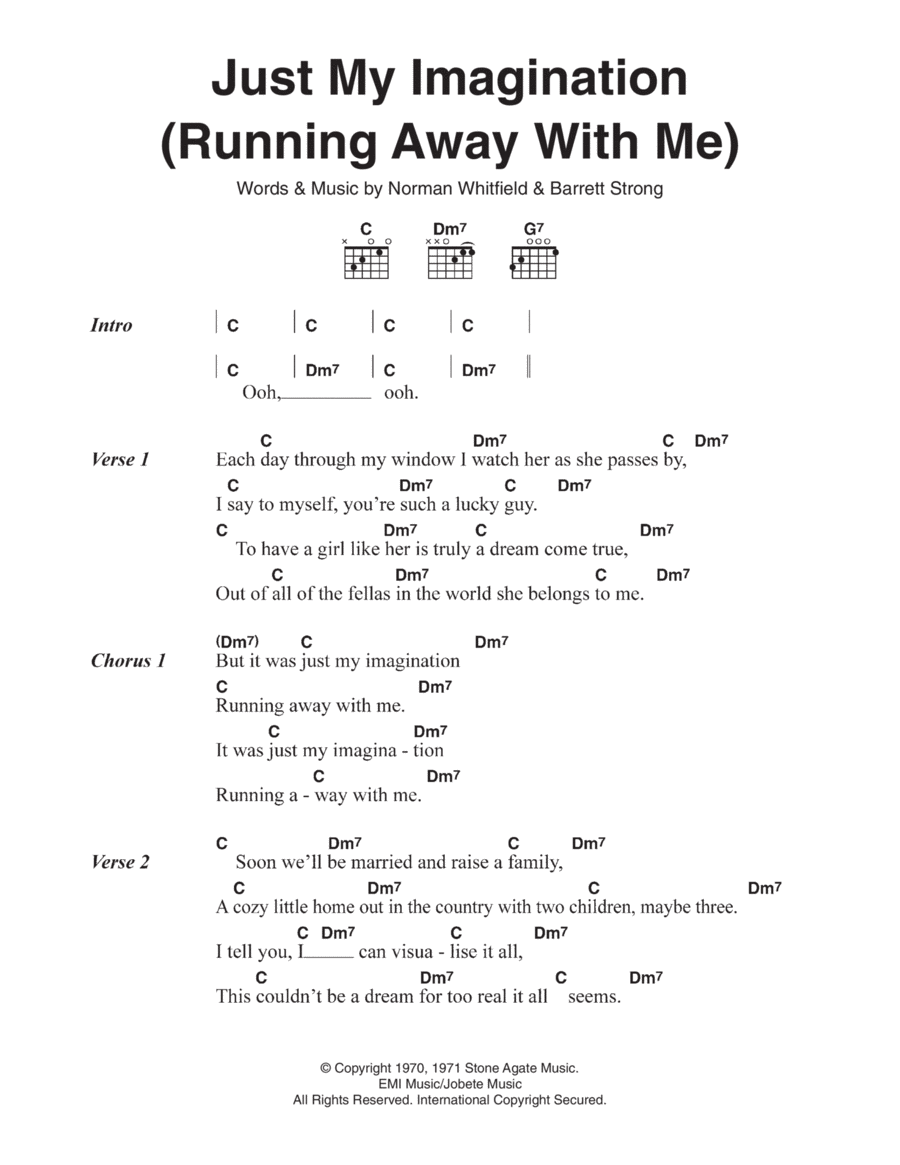 Just My Imagination (Running Away With Me)