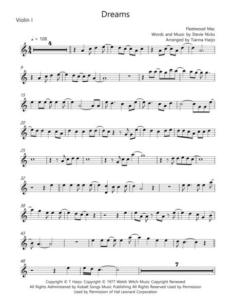 Dreams - String Quartet
