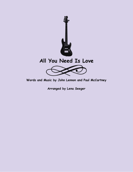All You Need Is Love (three violins and cello)