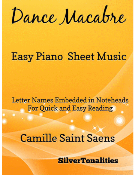 Dance Macabre Easy Piano Sheet Music