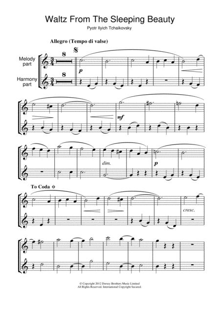 Waltz (from The Sleeping Beauty)
