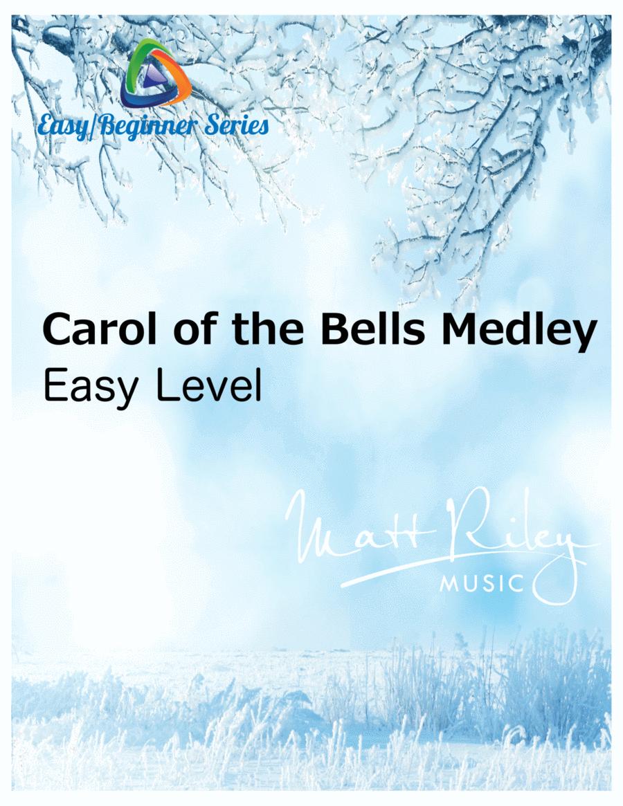 Carol Of The Bells / God Rest Ye Merry Gentlemen - 2 Alto Saxes, 2 Tenor Saxes, Baritone Sax (Optional)