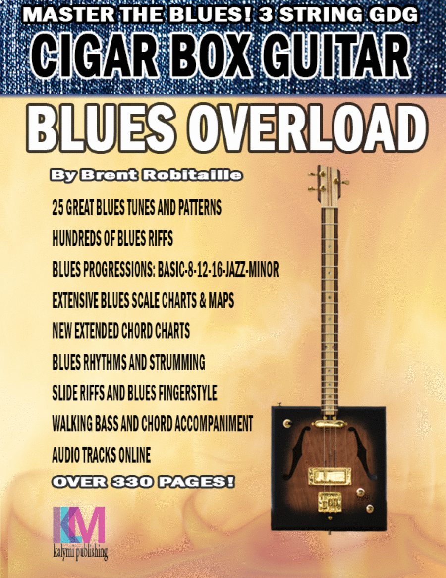 Cigar Box Guitar - Blues Overload