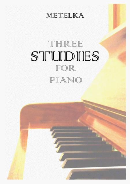 Three Studies for Piano by Jakub Metelka