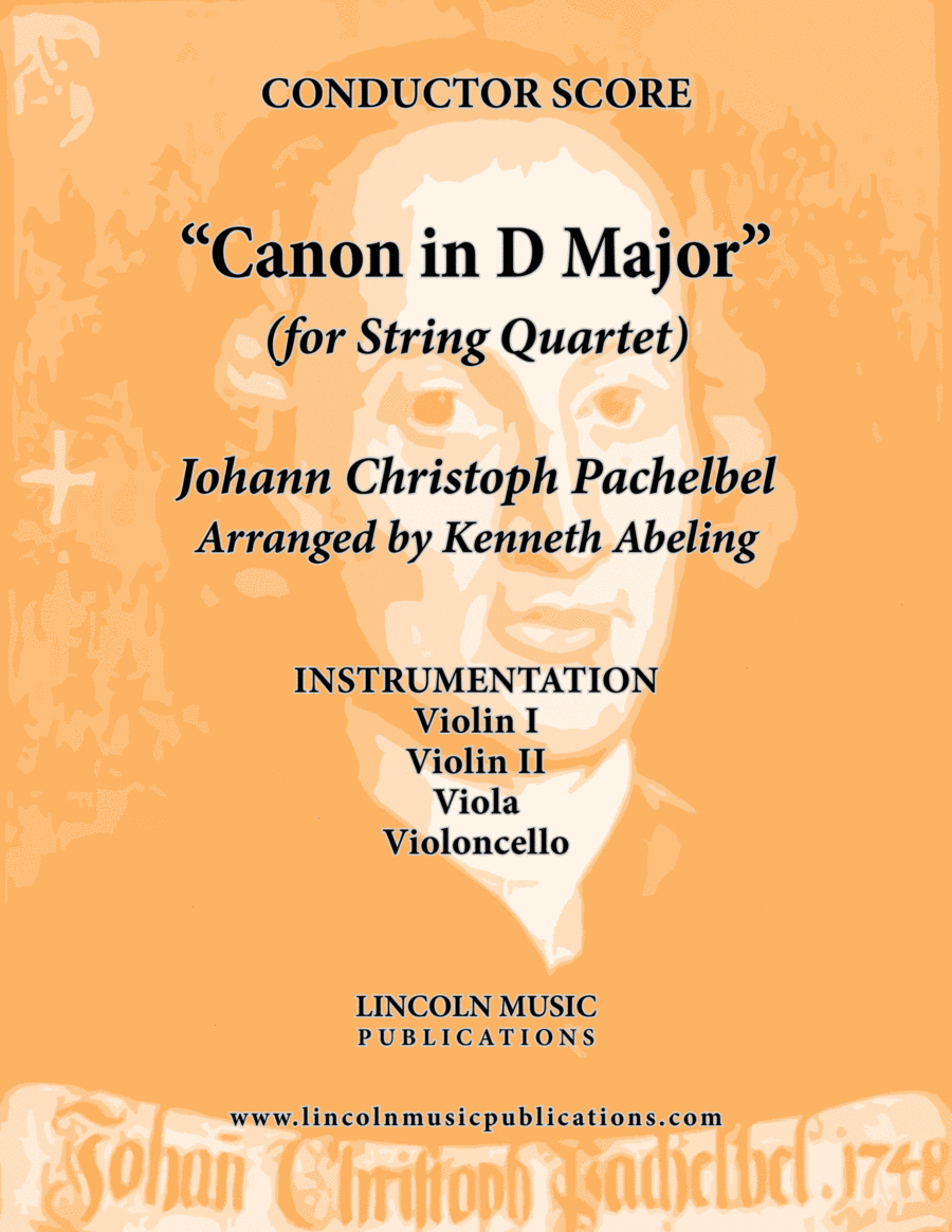 Pachelbel - Canon in D Major (for String Quartet)