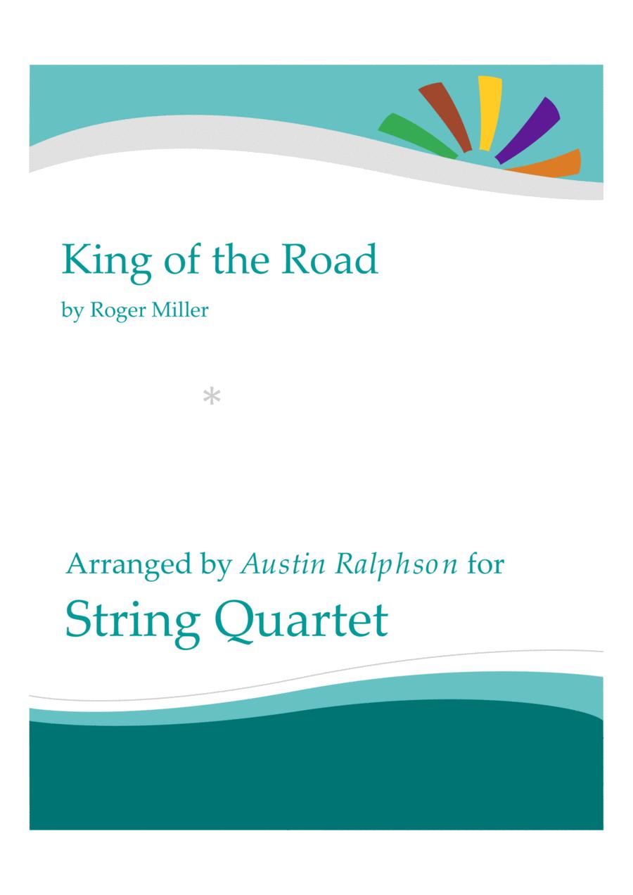 King Of The Road - string quartet