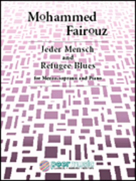 Jeder Mensch and Refugee Blues for Mezzo-soprano and Piano