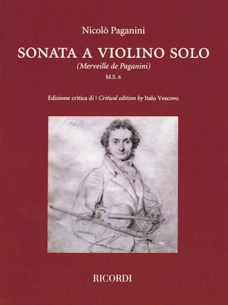 Sonata a Violino Solo