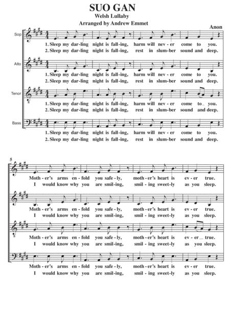 Suo Gan [Sleep My Darling] A Cappella