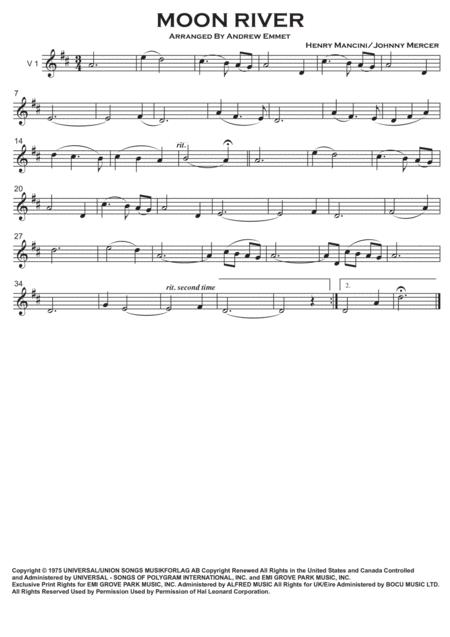 Moon River String quartet