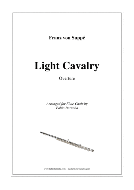 Light Cavalry - Overture for Flute Choir