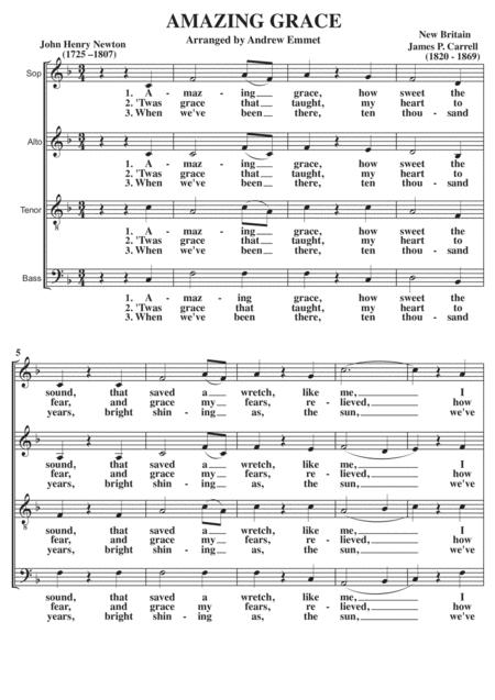 Amazing Grace A Cappella