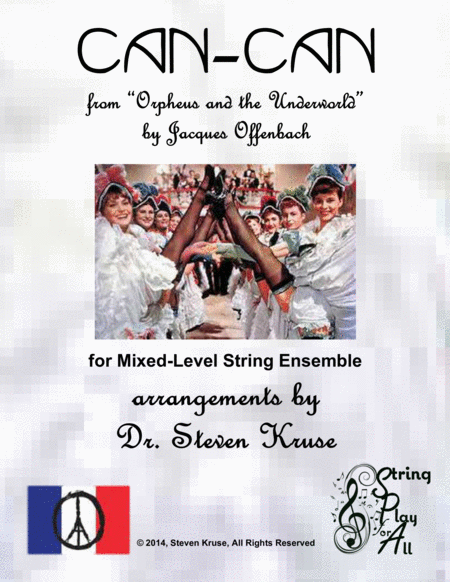Can-Can from Orpheus and the Underworld for Mixed-Level String Ensemble