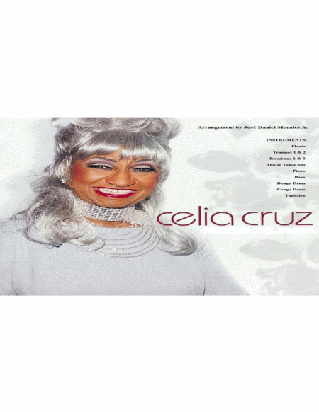 Celia Cruz - Bemba Colora Set of parts for orchestra of Tropical music