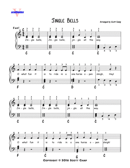 Jingle Bells (Second Year Piano Students)