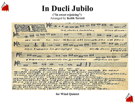 In Dulce Jubilo for Wind Quintet