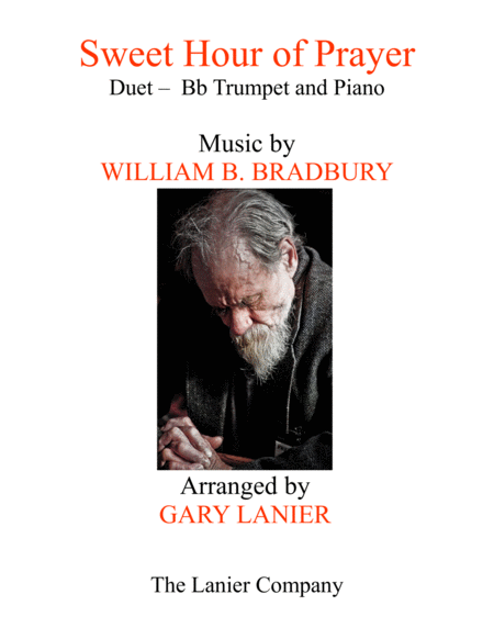 SWEET HOUR OF PRAYER (Duet – Bb Trumpet & Piano with Score/Part)