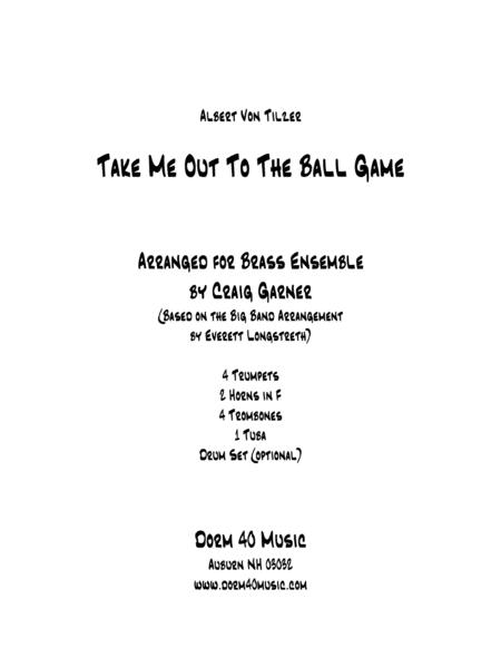 Take Me Out to the Ballgame (for Brass Ensemble)