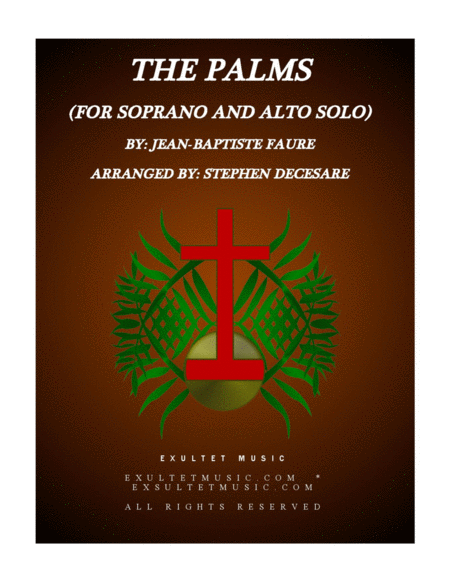 The Palms (Duet for Soprano and Alto solo)