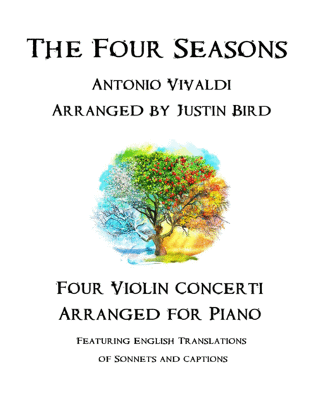 Vivaldi's Four Seasons - Arranged for Solo Piano