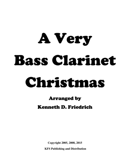 A Very Bass Clarinet Christmas