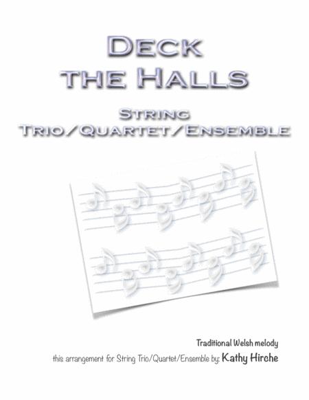 Deck the Halls - String Trio/Quartet/Ensemble