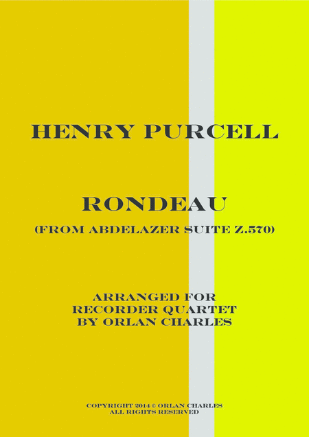 Henry Purcell - Rondeau - From Abdelazer Suite