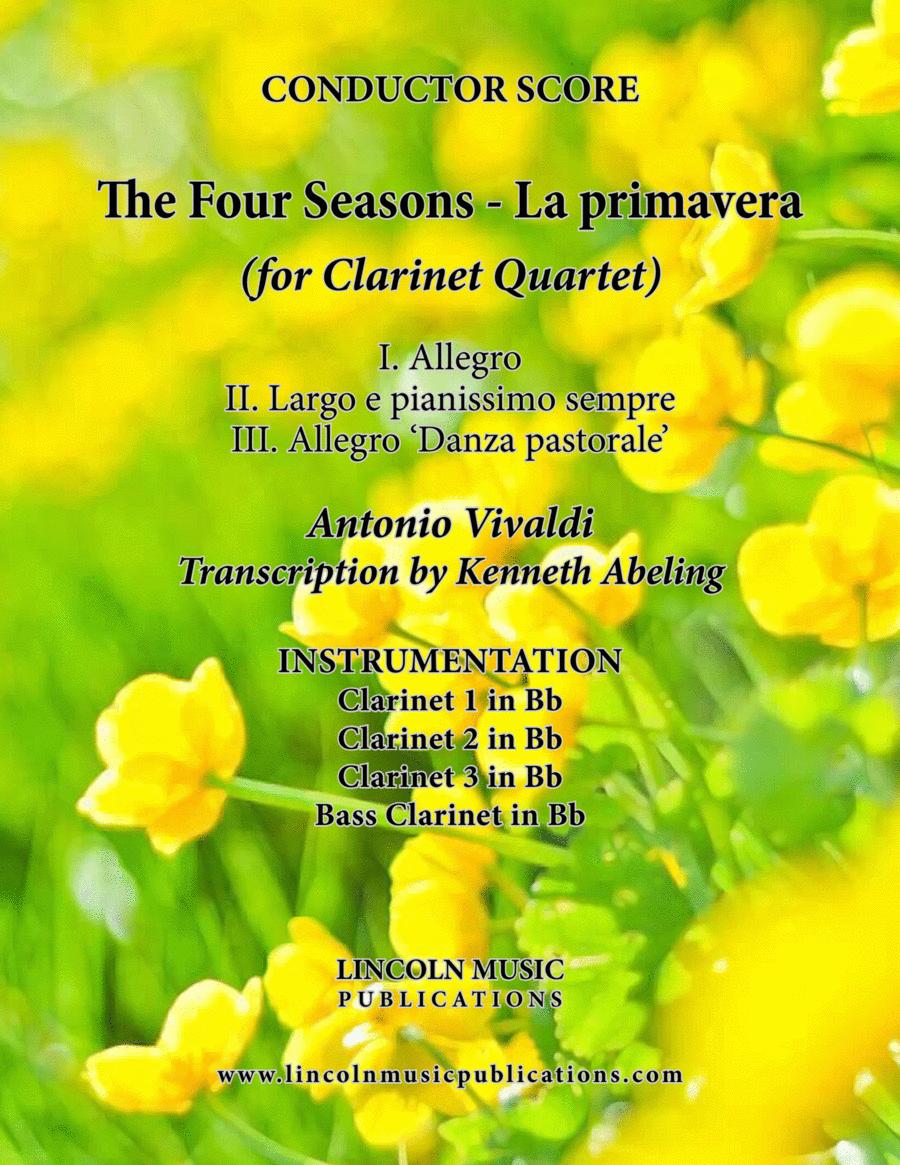 The Four Seasons - La Primavera (for Clarinet Quartet)