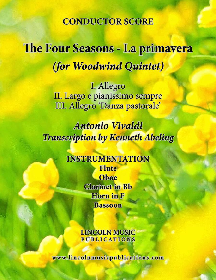 The Four Seasons - La Primavera (for Woodwind Quintet)