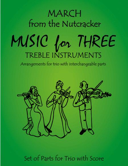 March from The Nutcracker for Violin Trio