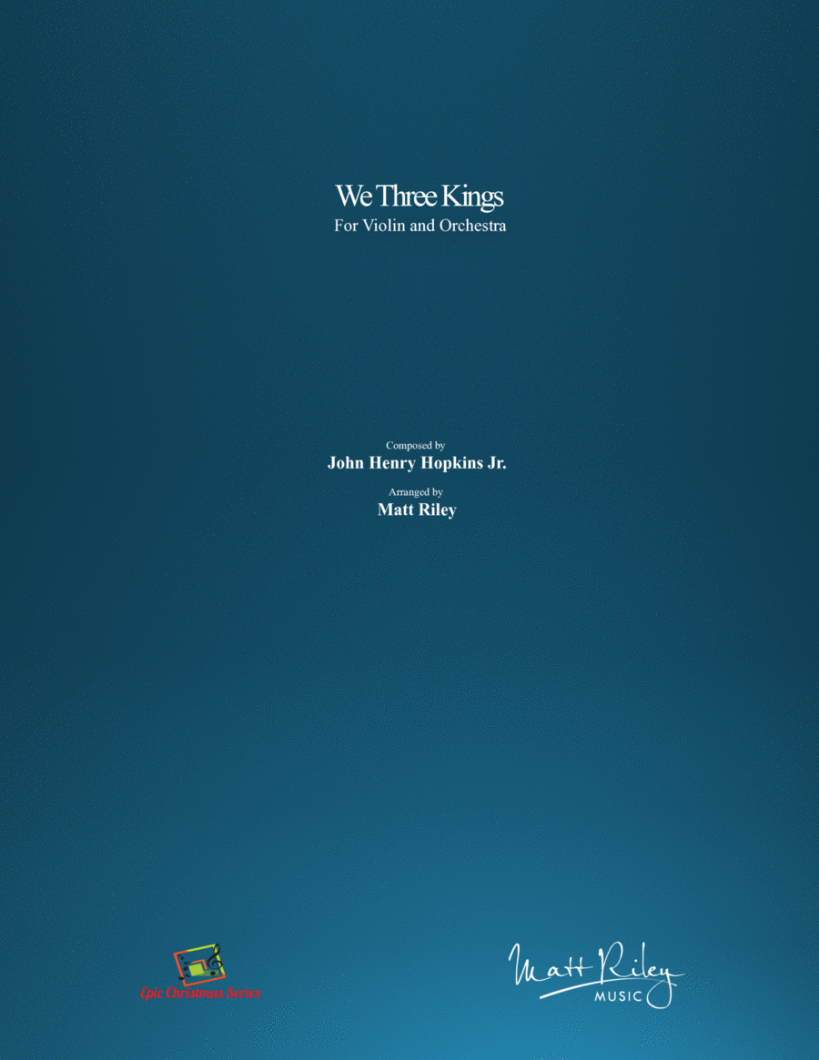 We Three Kings - Violin & Orchestra