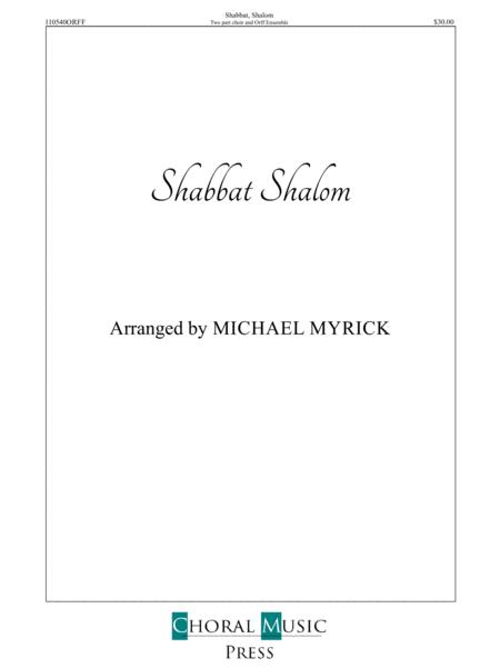 Shabbat Shalom ORFF