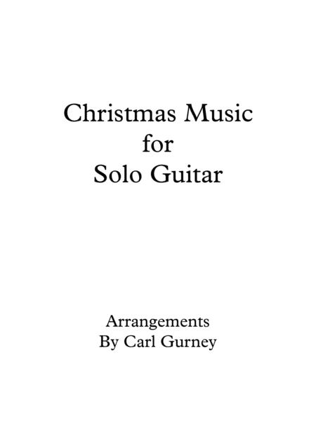 Christmas Music for Solo Guitar