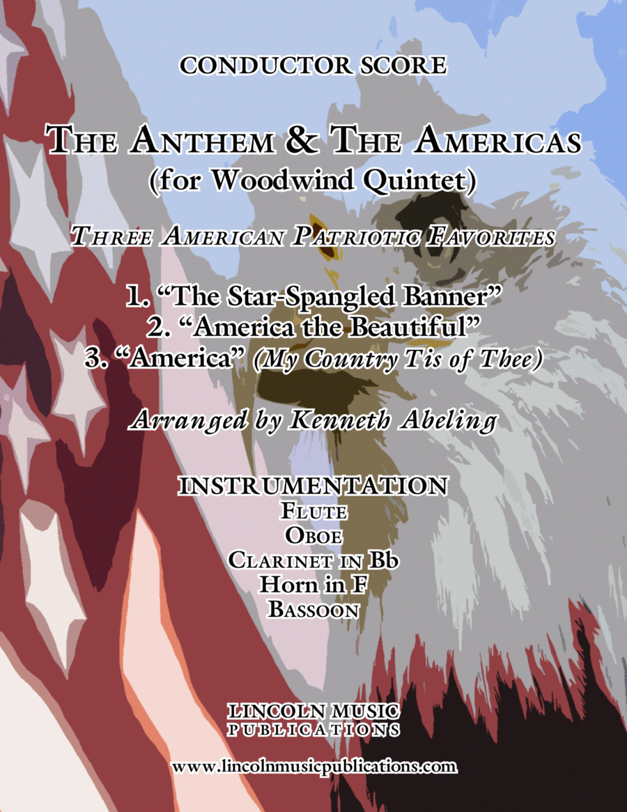 The U.S. National Anthem and The Americas (for Woodwind Quintet)