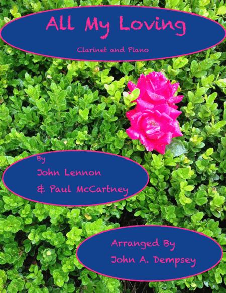 All My Loving (Beatles Clarinet and Piano)
