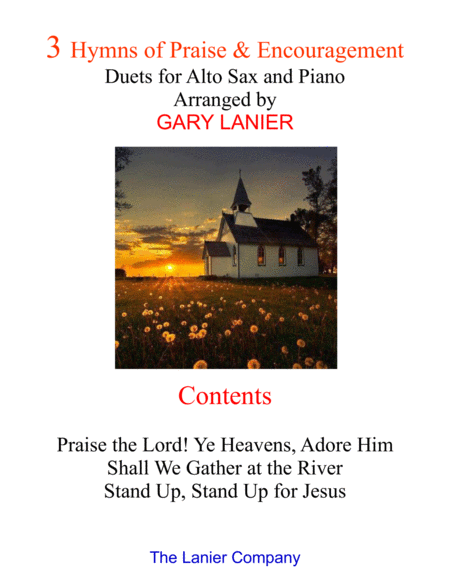 3 Hymns of Praise & Encouragement (Duets for Alto Sax and Piano)