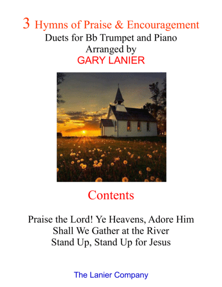 3 Hymns of Praise & Encouragement (Duets for Bb Trumpet and Piano)