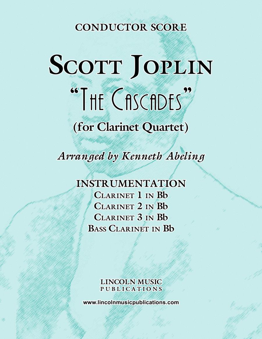 "Joplin - ""The Cascades"" (for Clarinet Quartet)"