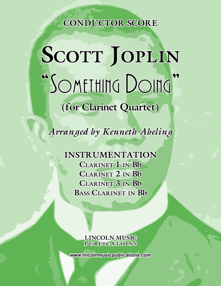 "Joplin - ""Something Doing"" (for Clarinet Quartet)"
