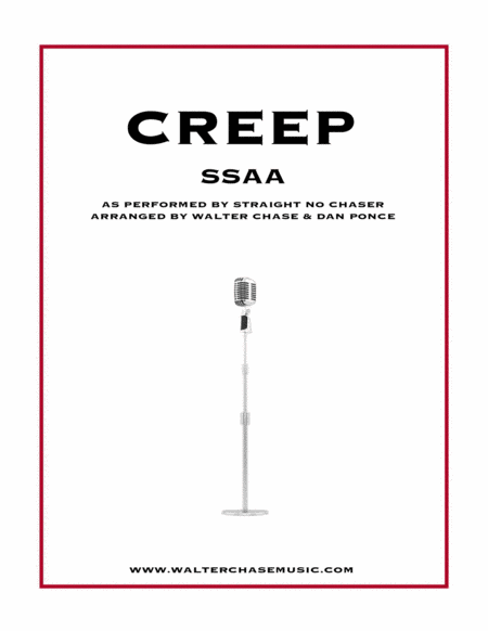 Creep (as performed by Straight No Chaser) - SSAA