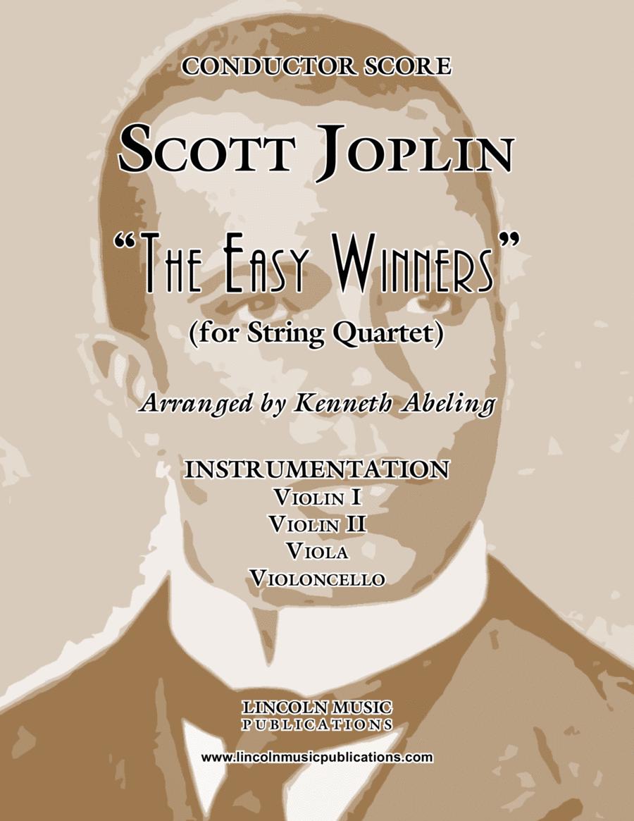 """Joplin - """"The Easy Winners"""" (for String Quartet)"""