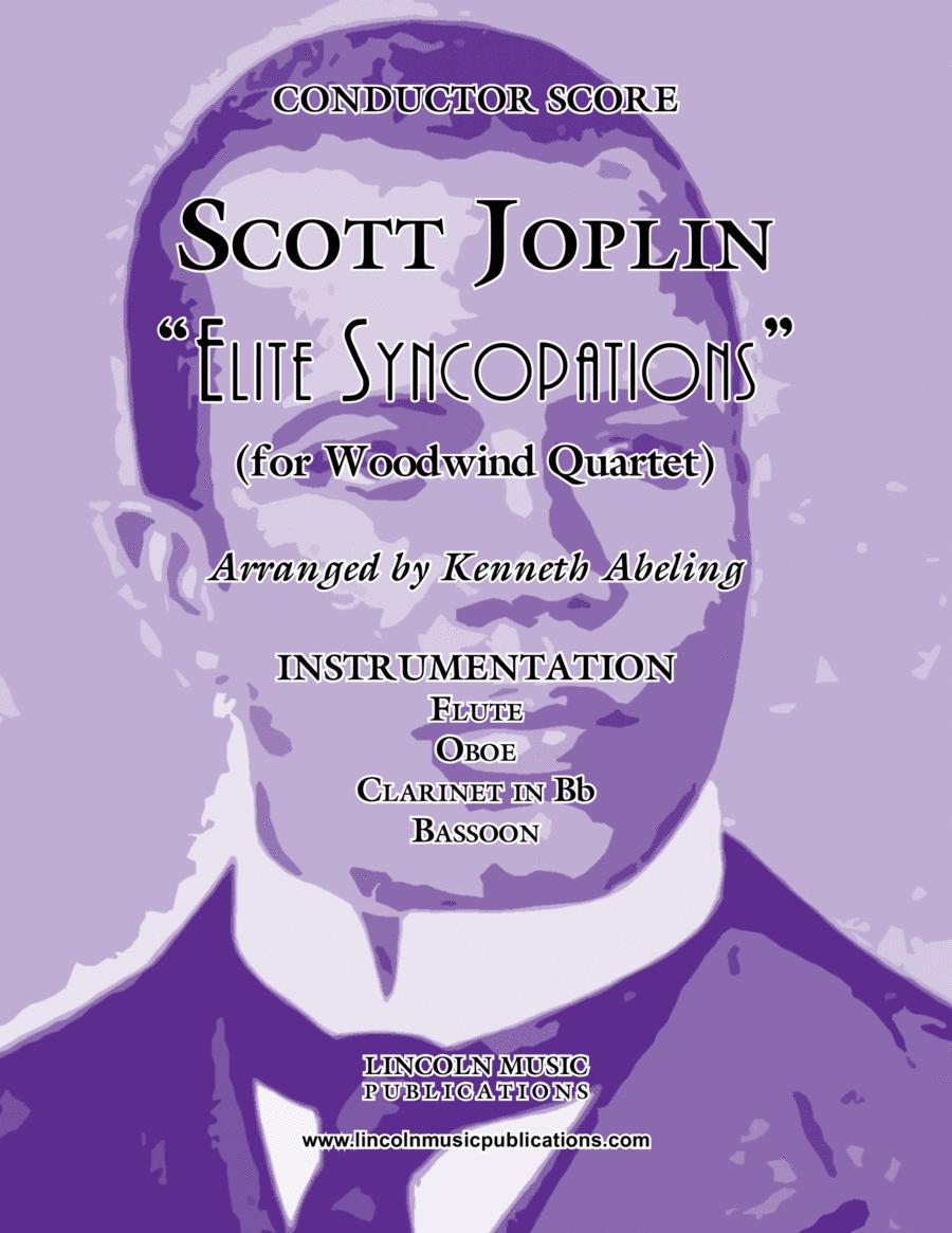 """Joplin - """"Elite Syncopations"""" (for Woodwind Quartet)"""