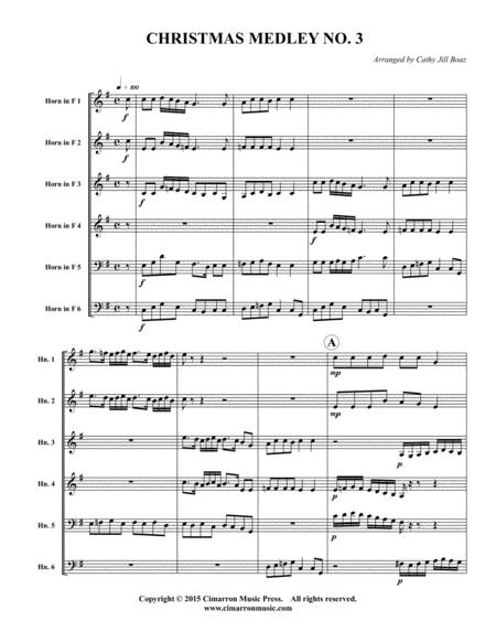 Chsirtmas Medley No. 3