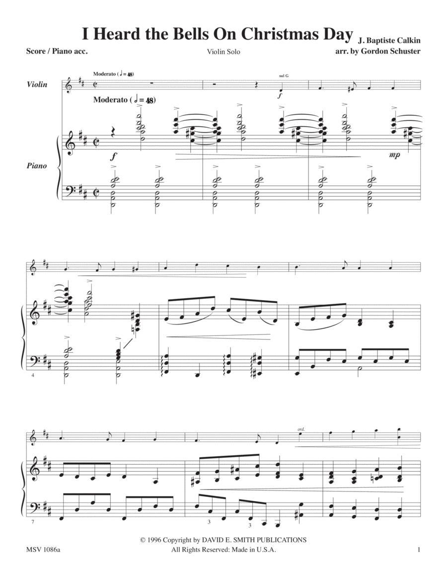 Maj. Christmas Solos -Violin, Vol. 3